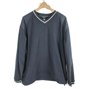Nike Golf Fleece Top Mens XL Pullover Long Sleeve